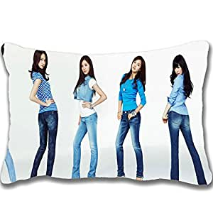 2015 Hot Sale Design Celebrity Zippered Pillows 20 X 30 inch Girls Generation Celebrity Wallpaper(27) Pillowcase Decorative Cotton Polyester Throw Pillow Case Cushion Cover (Two sides)