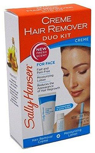 Sally Hansen Facial Hair Creme Remover Kit 1 ea (Pack of 12)