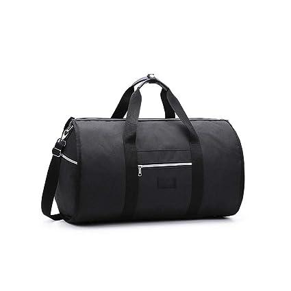 d968d1b6b257 Amazon.com: Canvas Sport Duffel Bag Gym Tote Bag with Shoe ...