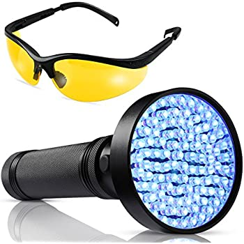 Amazon Com Escolite Uv Flashlight Black Light 51 Led 395