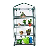 Cheap Super buy 4 Shelves Greenhouse Portable Mini Outdoor Green House Brand New Garden