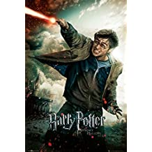 "Harry Potter And The Deathly Hallows - Part 2 - Movie Poster / Print (Regular Style B - Harry With Wand) (Size: 24"" x 36"") (By POSTER STOP ONLINE)"