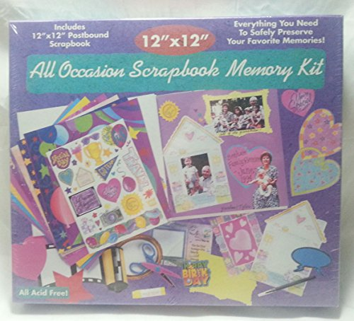All Occasion Scrapbook Memory Kit