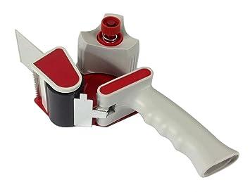 "2 ""dispensador de cinta pistola – Tensor doble cortador de embalaje resistente profesional"