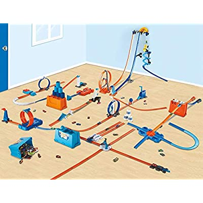 Hot Wheels Track Builder Vertical Launch Kit, Multicolor: Toys & Games