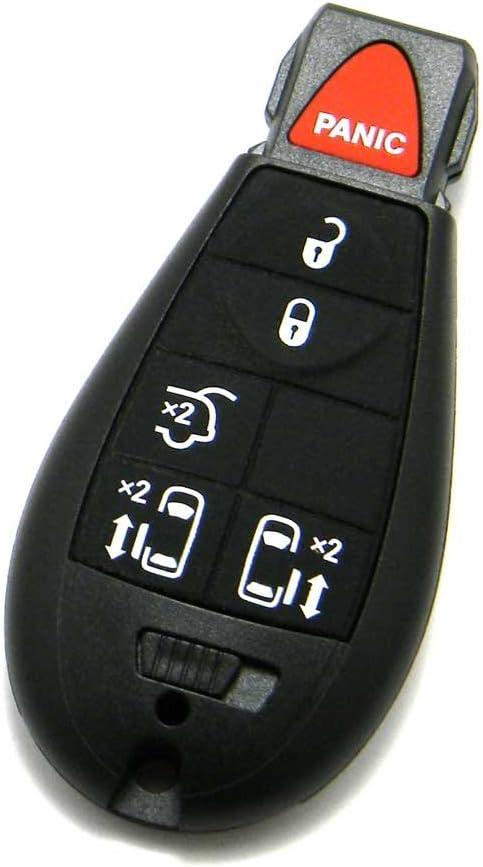 FCC ID: IYZ-C01C OEM Electronic 6-Button FOBIK Key Fob Remote Compatible With 2008-2018 Dodge Grand Caravan