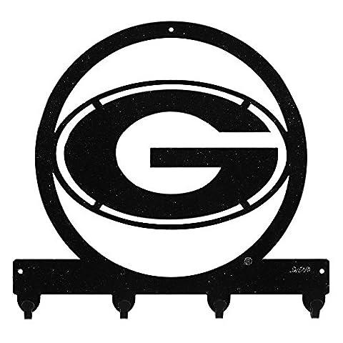 GEORGIA BULLDOGS Metal Key Chain Hanger - Leash Holder - Bulldog Leash Hook