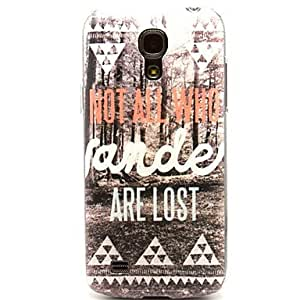 SOL Lost in the Forest Pattern Hard Plastic Cases for Samsung Galaxy S4 mini I9190