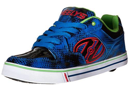 Heelys Heren Motion Plus Mode Sneaker Blauw / Zwart / Grafische Print