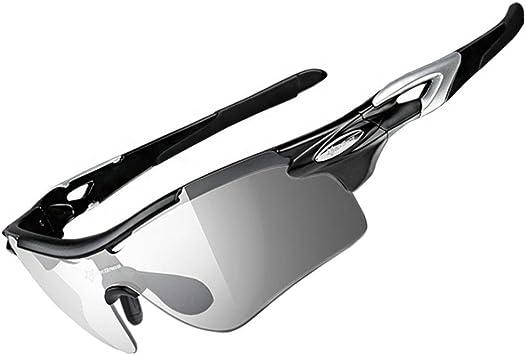 ROCKBROS Gafas de Sol con 2 Lentes Transparentes y ...