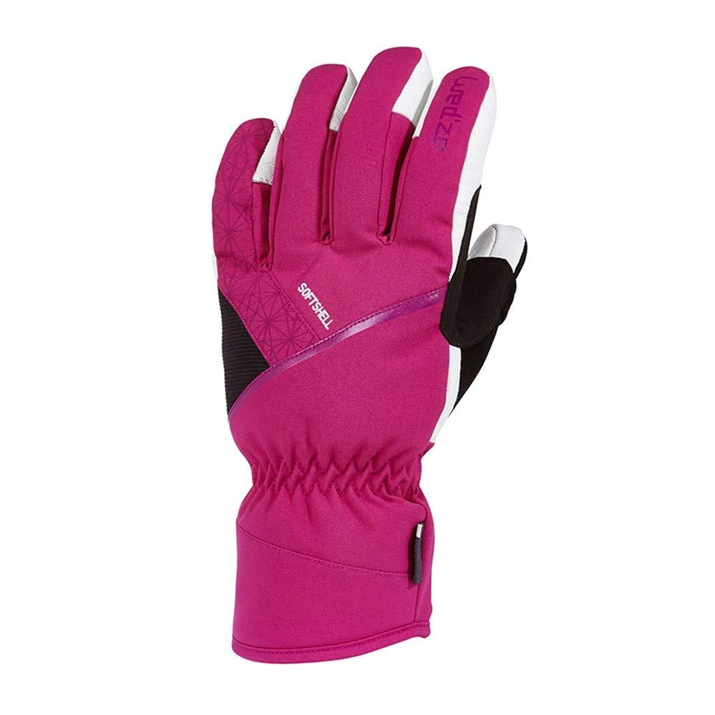 HU Wasserdichte Handschuhe Outdoor Ski Mountaineering Reiten Warme Winddichte Sporthandschuhe