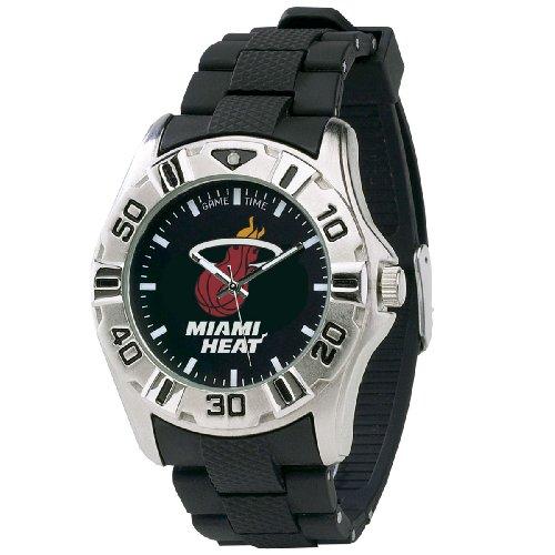 NBA Men's NBA-MVP-MIA Series Miami Heat Watch (Mvp Series Watch Mens)