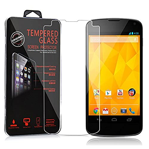 buy popular e1fa8 d69ee best Cadorabo Tempered Glass works with LG Google NEXUS 4 – HIGH ...