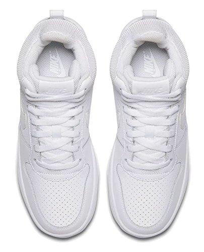 Borough Mid Shoes WMNS Nike Women's White Basketball white Court White OPB4xU