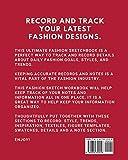 Vintage Fashion Style Sketchbook: Textile Crafts