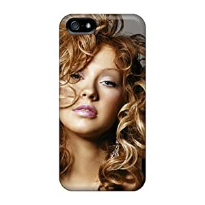 Saraumes Snap On Hard Case Cover Christina Aguilera Protector For Iphone 5/5s