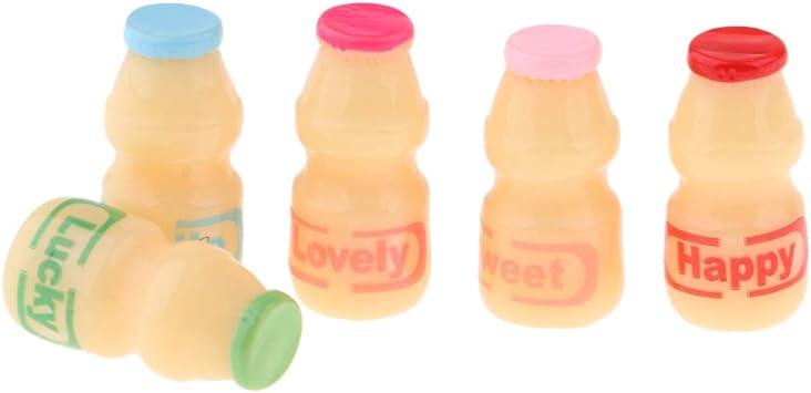 Dollhouse miniature food yogurts
