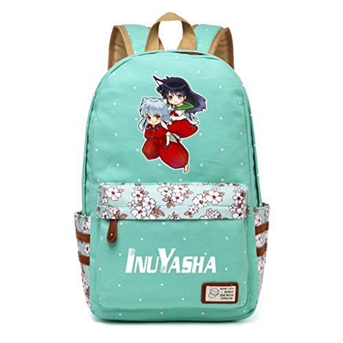 (YOYOSHome Anime Inuyasha Cosplay Rucksack Daypack Laptop Bookbag Backpack School)
