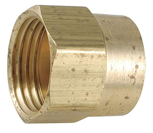 Low Lead Brass Female Adapter, 3/4' FGH x 3/4-14 FNPT Connection - pack of 5