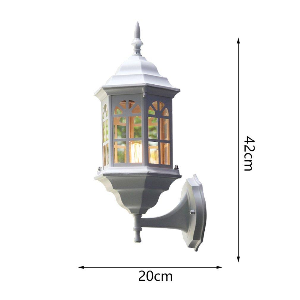 1411 Lampade da Parete per Esterni, lampade da Parete per Esterni, lampade da Giardino per Esterni, lampade da Giardino Americano, Balcone XQQQ