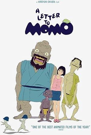 Amazon.com: A Letter to Momo: Yuka, Kouichi Yamadera, Cho, Karen