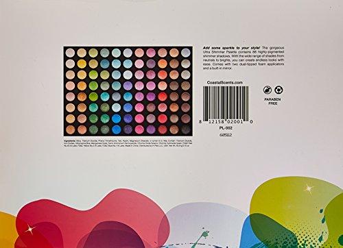 Coastal Scents 88  Palette, Ultra Shimmer