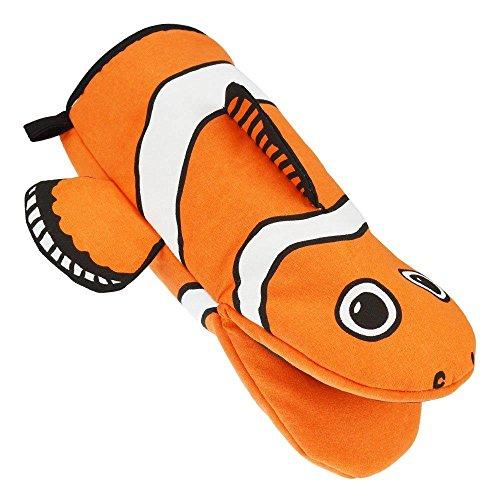 (Rockin Gear Oven Mitt Animal Clown Fish Kitchen Mitt Baking Cooking Over MITT SEA Animals)