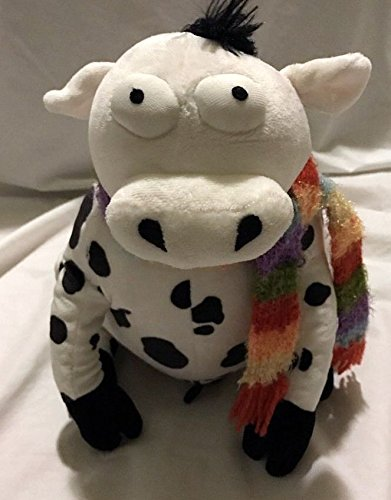 Amazon Com Gund Plush Silly Farm Animals Cow Lily 12 Toys