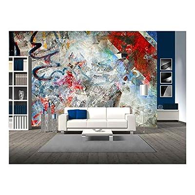 Graffiti Background Grunge Illustration - Wall Murals