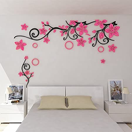 Qioungary ka to three dimensional wall stickers living room sofa tv background wall sticker 3d