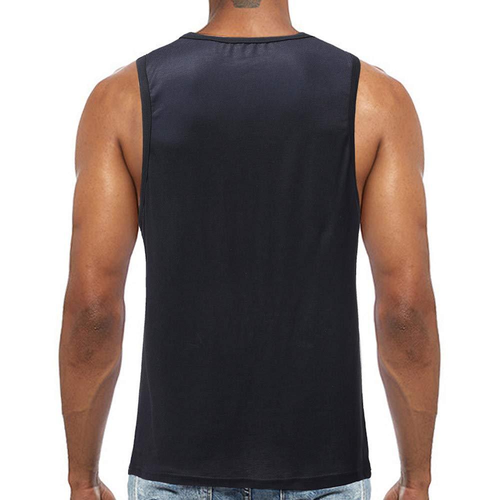 Mr.Macy New Surf Mens Sport Beach Swimming Fitness Tank Slim Fit Muscle Shirt