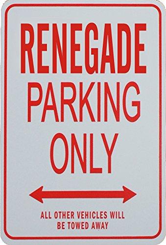 RENEGADE Parcheggio unico segno - Jeep Nexus Innovations JP-RENEGADE