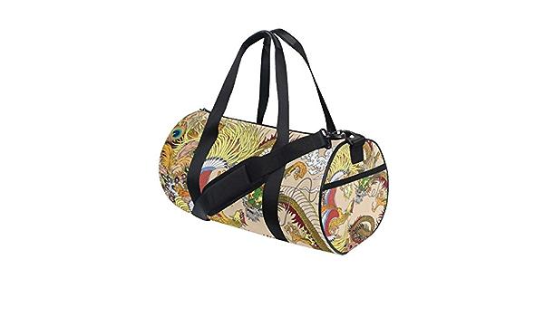 ADONINELP Travel Duffel Bag,Lightweight Durable Designed Gym Sports Bag Fashion Print Weekender Bag Large,Sumo Wrestler Raised Leg