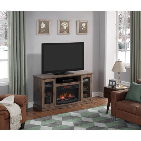 side cabinets fireplace - 1