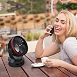 OPOLAR 2019 New Camping Fan with Light Function