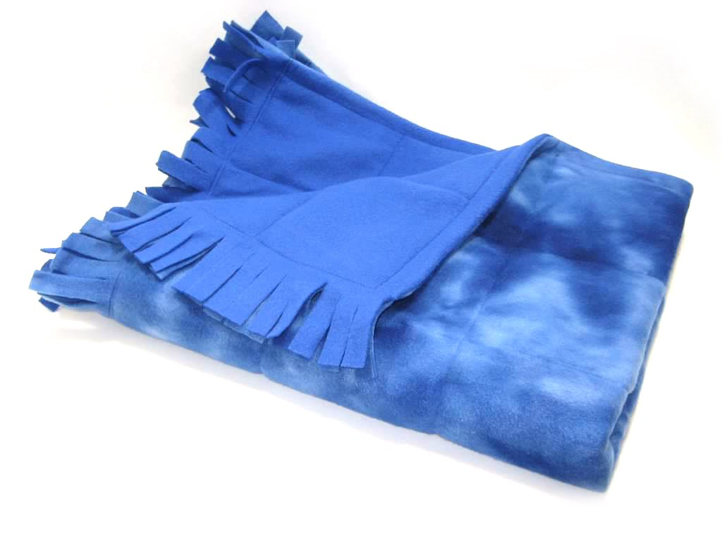 Small Fringed Weighted Blanket (5 Lb - 30x42) - Sensory Tool, Special Needs Aid, Provides Pressure Like a Hug by Covered In Comfort by Covered In Comfort (Image #4)
