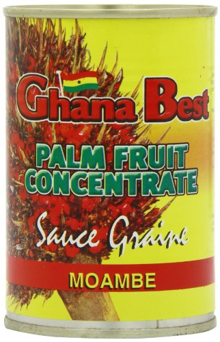 Ghanabest Palm Fruit Concentrate Sauce Graine 400 grams (Pack of 6) Sauce Concentrate