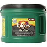 Folgers Black Silk Decaf Ground Coffee, 20.6 Ounce