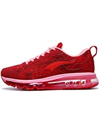 Women's Air Cushion Running Shoes Lightweight Walking Jogging Gym Outdoor Exercise Drive Athletic Sport Sneakers