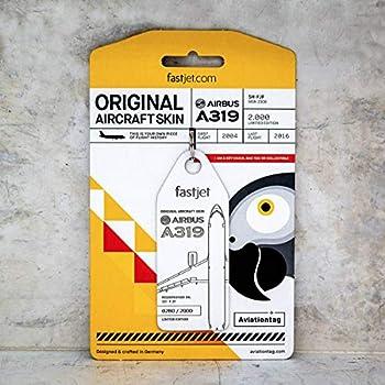 Amazon.com: AVT004 AviationTag Airbus A320 (China Eastern ...