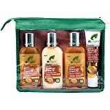 DR ORGANIC Mini Travel Pack Organic Moroccan Argan Oil, 4 Count