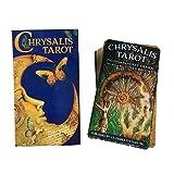 Tarot Card The Chrysalis Tarot Deck and Guidebook Tarot Guidebook Table Game Cards for Family Gathering Party 78PCS