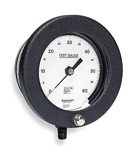 Pressure Gauge, 0 to 200 psi, 4-1/2In
