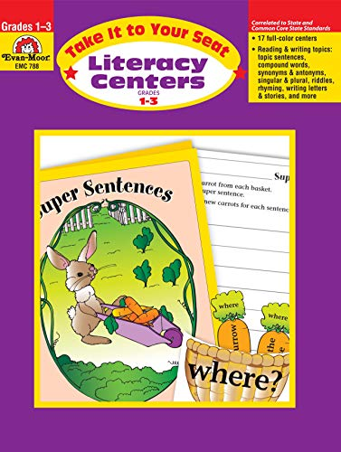 Take It to Your Seat Literacy Centers, Grades 1-3 - Literacy Play Centers Books