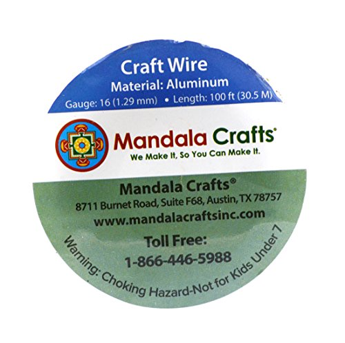 mandala crafts 12 14 16 18 20 22 gauge anodized jewelry