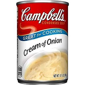 Amazon.com : Campbell's Condensed Soup, Cream of Onion, 10