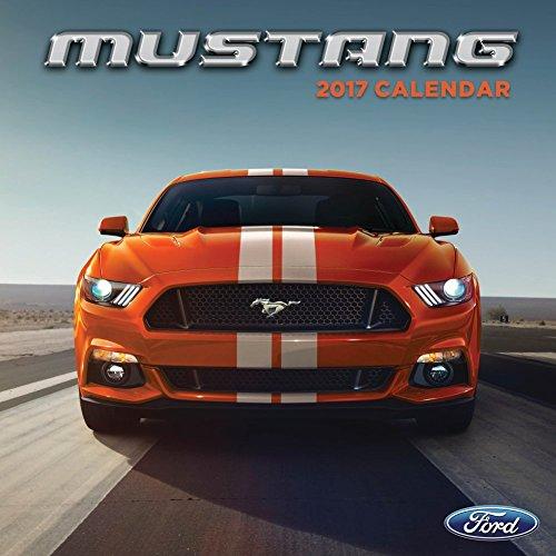 "TF Publishing Mustang 2017 Calendar 12"" L x 12"" H"