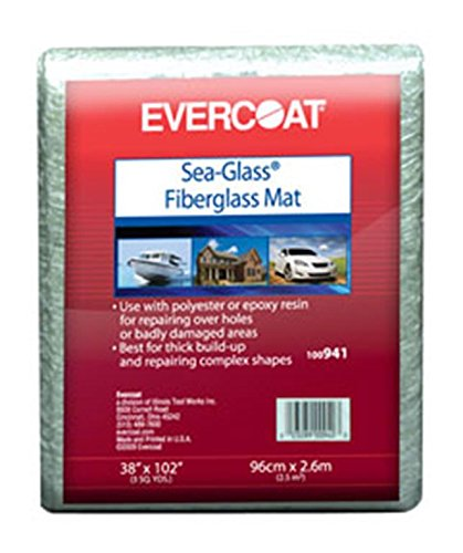 Fibreglass Evercoat 942 Fiberglass Matting - 8 Square Foot (Mat Fiberglass Bondo)