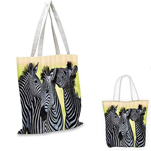 - Wildlife Animal Decor Collection fashion shopping tote bag Zebras Safari Wild Nature Picture Print. canvas bag shopping 13