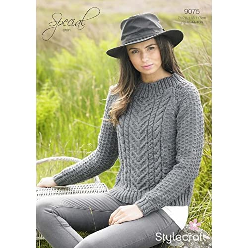 Aran Sweater Knitting Patterns Amazon